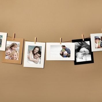 4x6 Photo Cards - Picture Display Hanging Frame Set