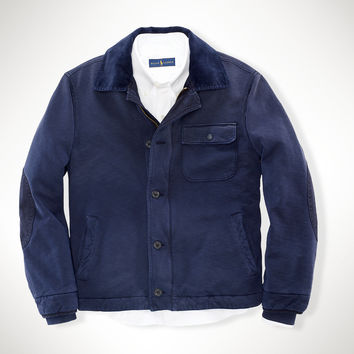 FRENCH TERRY DECK JACKET