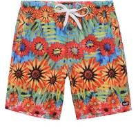 Neff Sunflower Hot Tub Shorts - Mens Board Shorts - Floral -