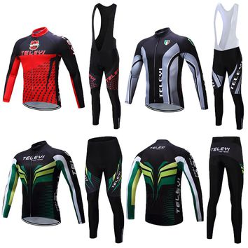 2017 Men Pro Cycling Clothes Road Bike Clothing Kits Male Bicycle Jersey Maillot Sets Skinsuit Wear Tops Bib Pants Mallot Wear