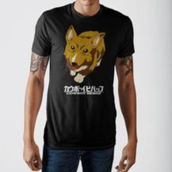 Cowboy Bebop Dog Black T-Shirt