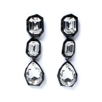 CRYSTAL STONE EARRINGS