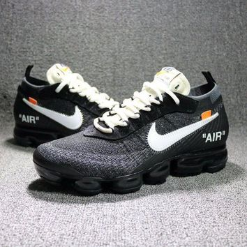 DCCKU62 Sale OFF-WHITE c/o VIRGIL ABLOH ¡Á NIKE AIR VAPORMAX FLYKNIT Sport Shoes SWOOSH AA3831-001-1