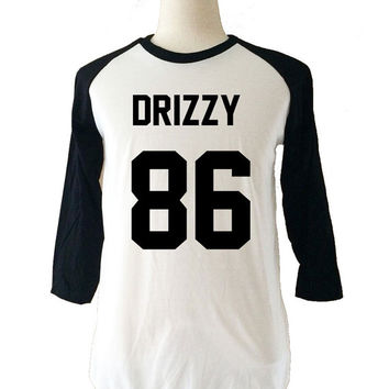Drizzy Drake Long Sleeve 3/4 Baseball T-Shirt