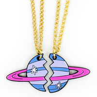 On Another Planet Bestie Necklaces