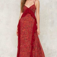 Nasty Gal Paisley to Play Maxi Dress