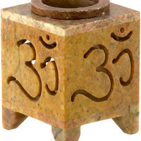 Om - Oil Burner - Candle Holder