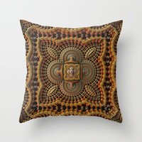 Echoes of India Throw Pillow by Lyle Hatch