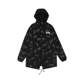Billionaire Boys Club REPEAT PRINT FISHTAIL PARKA - Billionaire Boys Club