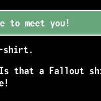Is That A Fallout Tshirt? T Shirt