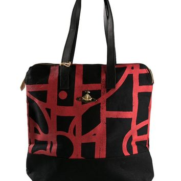 Vivienne Westwood abstract orb shopper tote