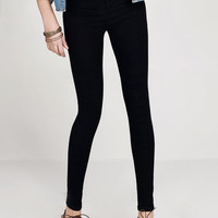 Black High Waist Skinny Denim Pant