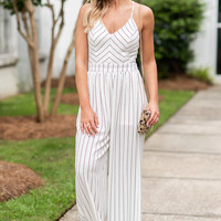 Jump In Jumpsuit, Off White
