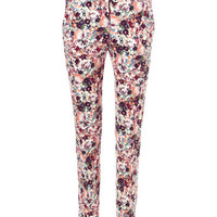 PRINTED CROPPED TROUSERS - Trousers - Woman - New collection | ZARA United States