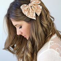 Sparkly Hair Bow