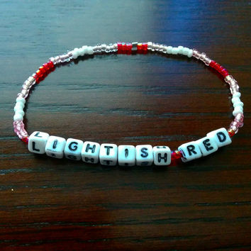 Lightish Red Bracelet