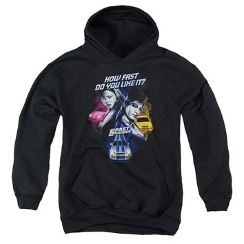 2 Fast 2 Furious - Fast Women Youth Pull Over Hoodie