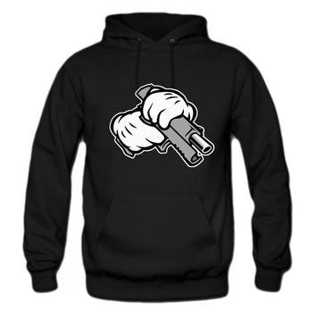 Ghetto Mickey Hands hoodie