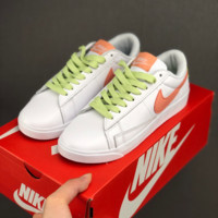 HCXX 19June 963 Nike Blazer Low LE casual board shoes white orange