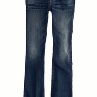AEO 's Kick Boot Jean (Blue Black)