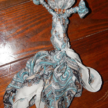 Gypsy Seer Poppet - Voodoo Doll to Increase Psychic Powers and Occult Abilities - Divination Poppet - Psychic Spell Fetch - OOAK
