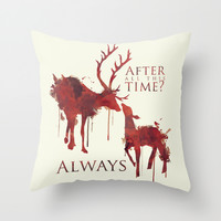 Always Throw Pillow by Rose's Creation