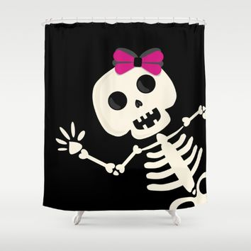 Peek a Boo Shower Curtain by UMe Images