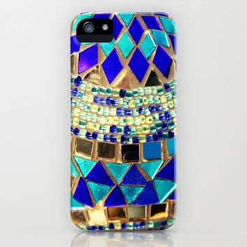mosaic and beads iPhone & iPod Case by Sylvia Cook Photography