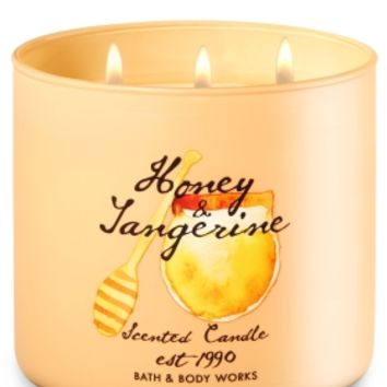 3-Wick Candle Honey Tangerine