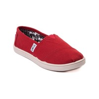 Youth TOMS Classic Slip-On Casual Shoe