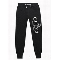 Gucci men and women tide brand trendy fashion trousers sweat pants F