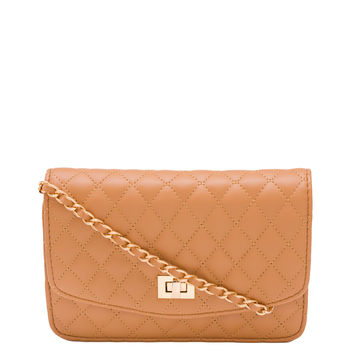 Bianca Clutch - Tan
