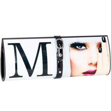 Mad Style Magazine Clutch, White Hot Fashion