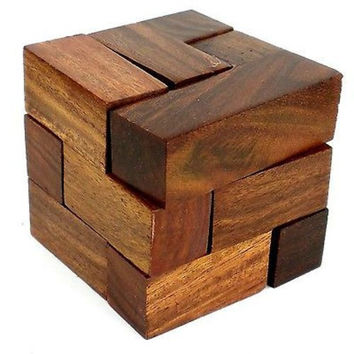 Handmade Cube Puzzle