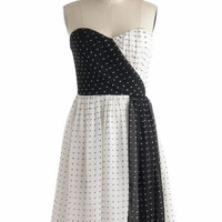 Beyond Black and White Dress | Mod Retro Vintage Dresses | ModCloth.com