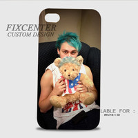 Michael Clifford 5SOS cute 3D Cases for iPhone 4,4S, iPhone 5,5S, iPhone 5C, iPhone 6, iPhone 6 Plus, iPod 4, iPod 5, Samsung Galaxy Note 4, Galaxy S3, Galaxy S4, Galaxy S5, BlackBerry Z10 phone case design