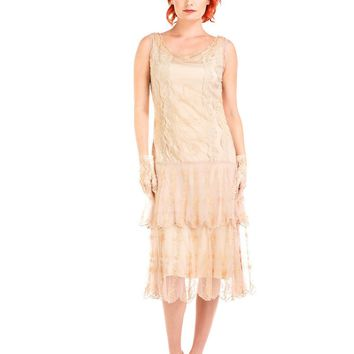 Nataya AL-282 Eva 1920s Flapper Style Party Dress in Vintage