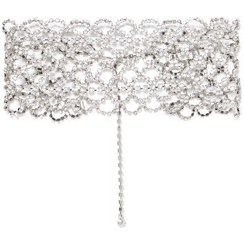 Silver-tone crystal choker | Kenneth Jay Lane | UK | THE OUTNET