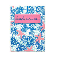 Simply Southern Pocket Folder - Coral Reef