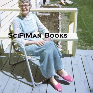 DCCK7BE Vintage 35mm Slide Pretty Woman Slippers Front Porch Chair Fashion 1972!!!