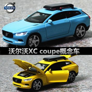 Double Horses 1:32 High Simulation Collection Toys Car Styling Volvo XC Coupe Model Alloy Car Model The Fast and the Furious