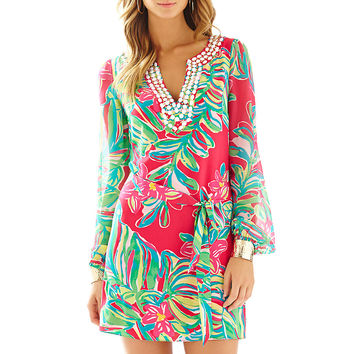 Lilly Pulitzer Saemus Beaded Neckline Tunic Dress
