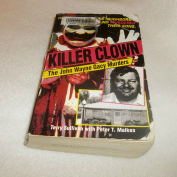 JOHN WAYNE GACY Killer Clown Serial Killer Paperback Book