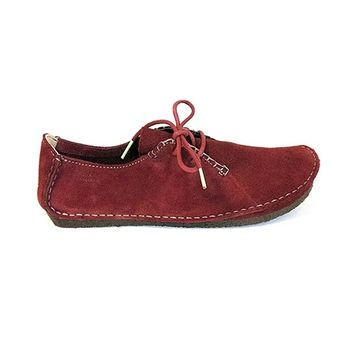 Clarks Originals Clarks Faraway Field - Red Suede