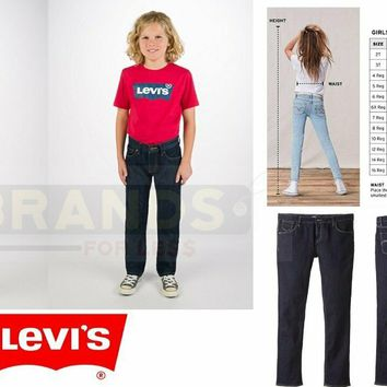 ✅NEW! Levi's Boy's 505/711/710 Regular or Slim Fit Jeans, VARIETY/SIZES/COLORS