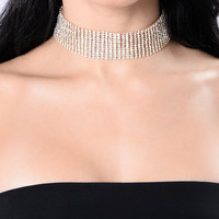 100 Voicemail's Choker - Gold