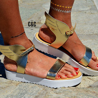 "Women leather Sandal ""Hermes"", Ancient Greek Sandals, Leather Sandals, handmade sandals"