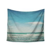 "Susannah Tucker ""The Teal Ocean"" Green Blue Wall Tapestry"