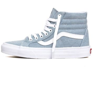 Denim Sk8-Hi Reissue Women's Sneakers Baby Blue