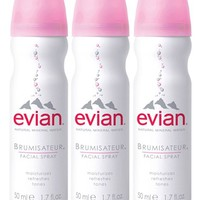 Evian Facial Water Spray (Set of 3)